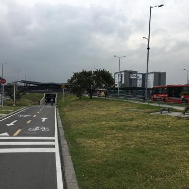 Busstasjonen Portal El Dorado